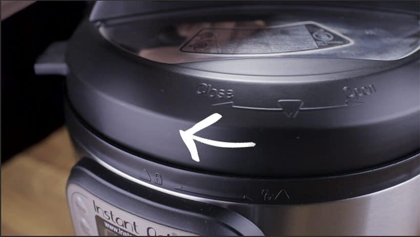 Instant Pot Water Test Close Lid Clockwise