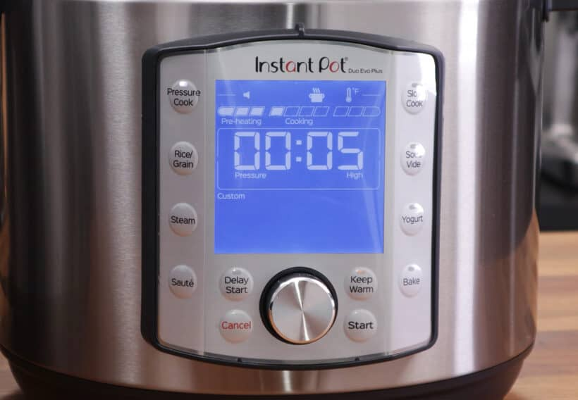 Instant Pot Water Test Countdown Timer