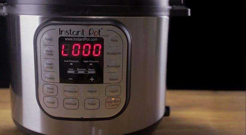Instant Pot Keep Warm Mode
