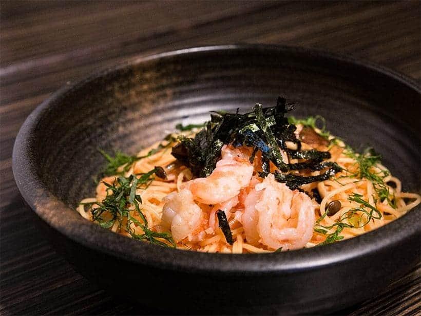 Japanese-Italian Restaurant serving Japanese fusion spaghetti