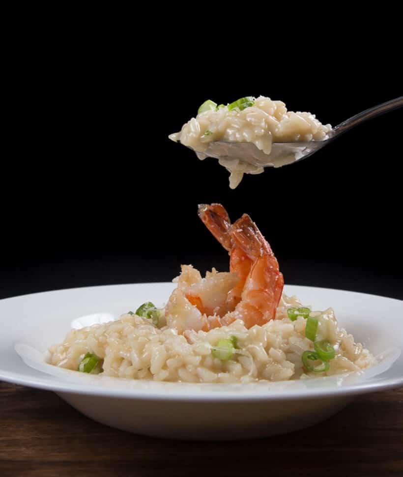 shrimp risotto instant pot