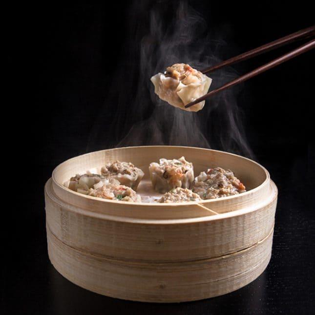 Pressure Cooker Chinese Recipes: Shumai Shrimp & Pork Dumplings