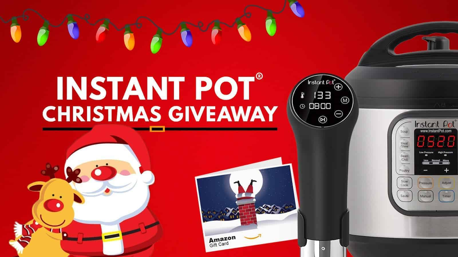 Instant Pot Christmas Giveaway