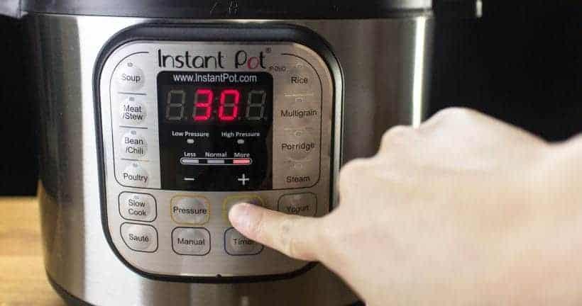 Instant Pot Saute More