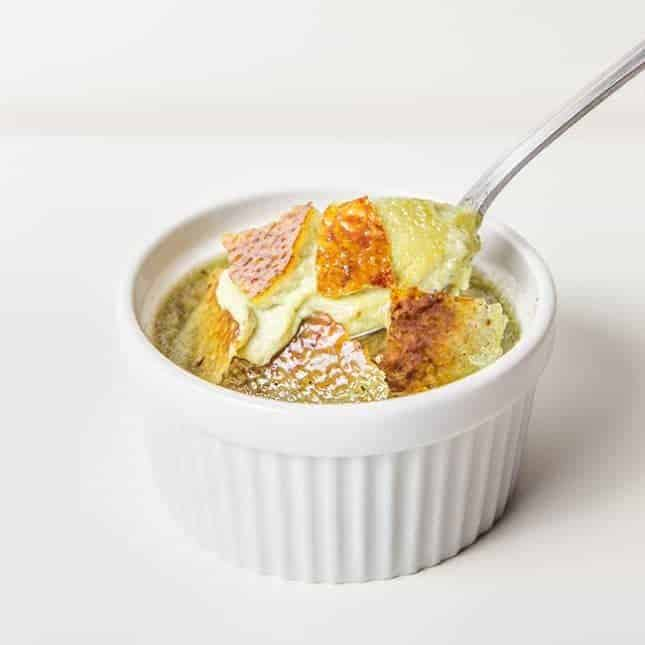 Instant Pot Party Food Recipes: Instant Pot Green Tea Creme Brulee