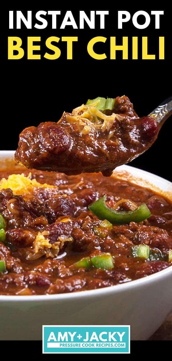 instant pot chili   instant pot chili recipe   chili instant pot   pressure cooker chili   instapot chili  #AmyJacky #InstantPot #PressureCooker #recipe