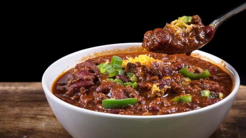 Make this Easy Instant Pot Chili Recipe under an hour! Simple umami & spicy Pressure Cooker Beef & Beans Chili to satisfy your hearty comfort food cravings.