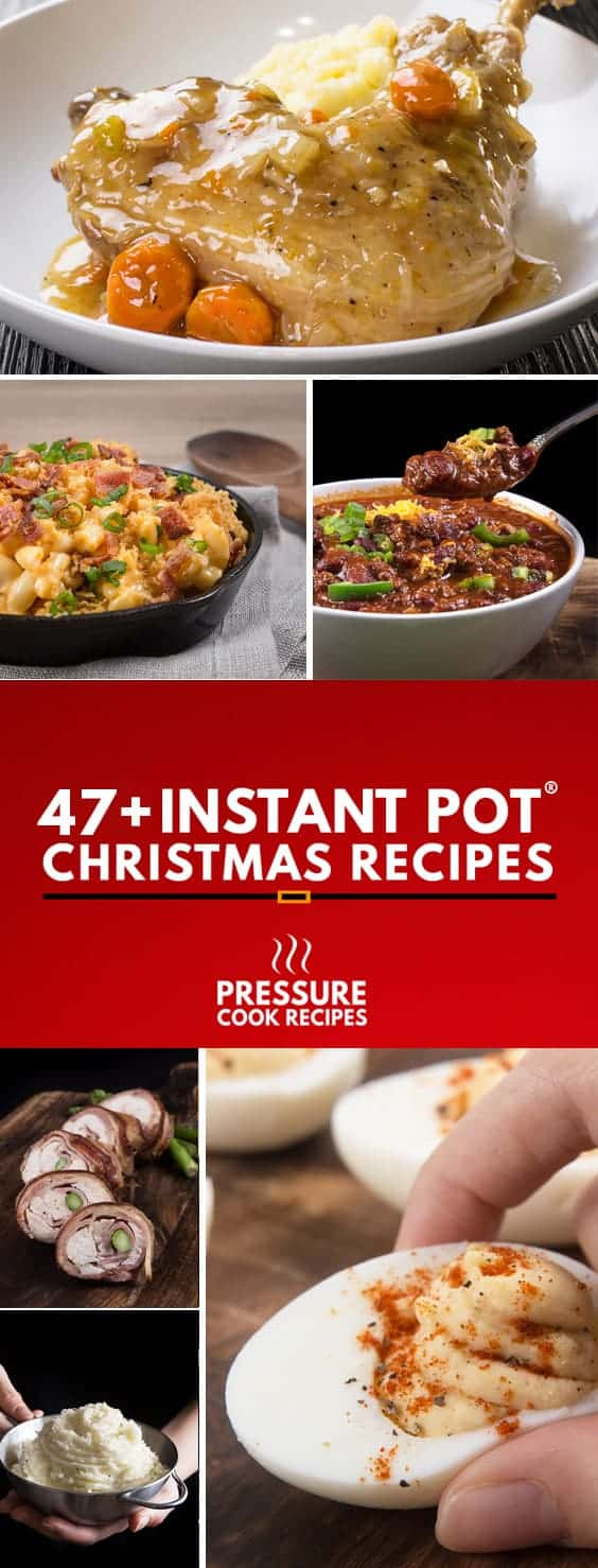 Instant Pot Pressure Cooker Christmas Recipes: make your Christmas holidays memorable with our handpicked collection of recipes!