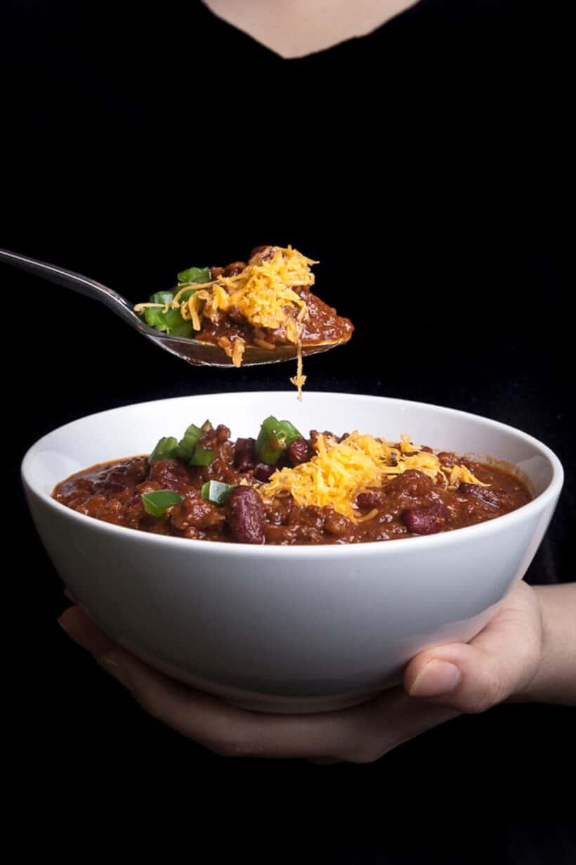 instapot chili  #AmyJacky #InstantPot #PressureCooker #recipe