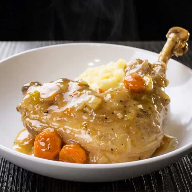 Instant Pot Christmas Recipes: Pressure Cooker Turkey One Pot Meal