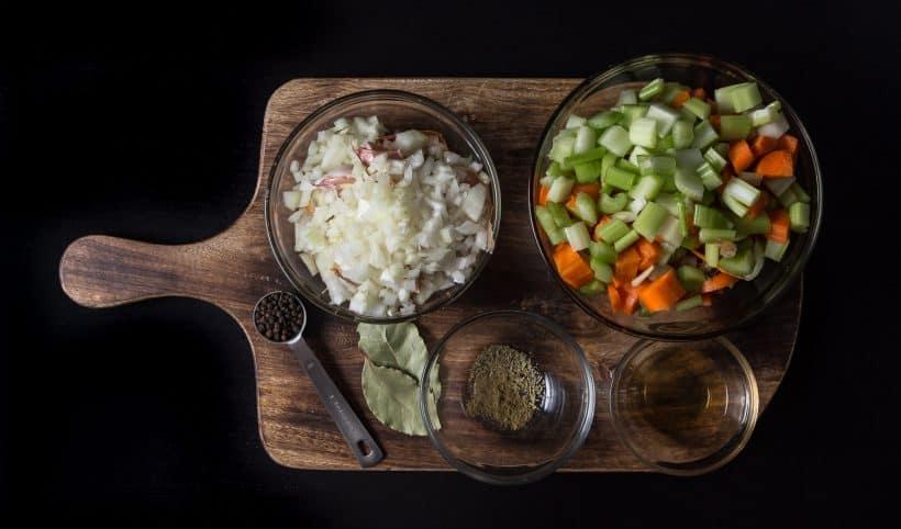 Pressure Cooker Turkey Stock Recipe Ingredients