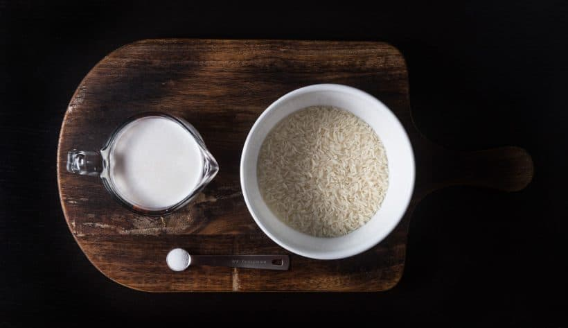 Instant Pot Coconut Rice Recipe Ingredients