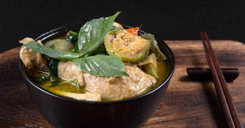 Instant Pot Thai Green Curry Chicken