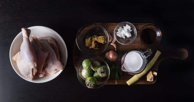 Instant Pot Thai Green Curry Chicken Recipe Ingredients