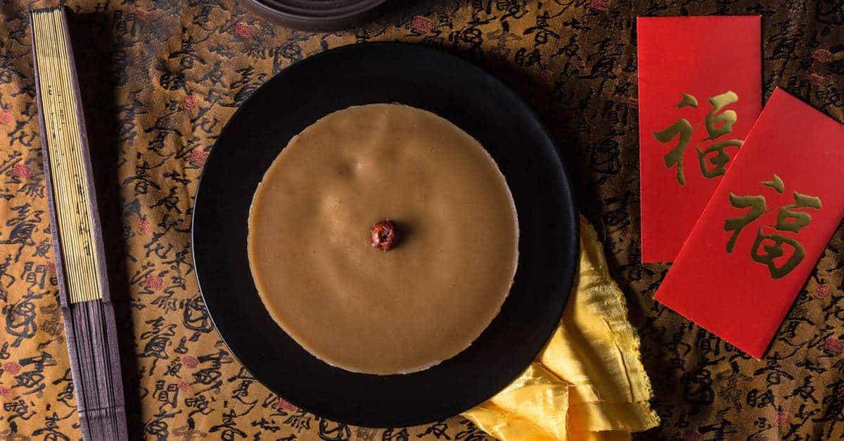 Chinese New Year Cake Nian Gao Recipe