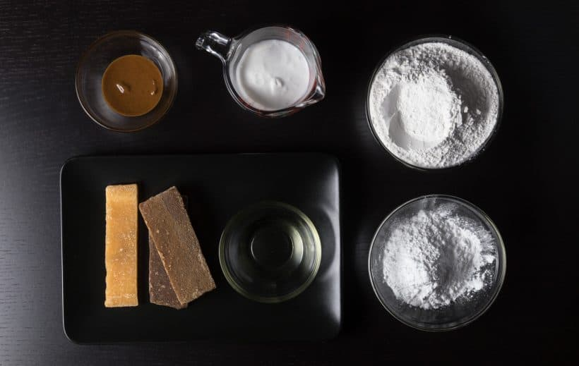 Nian Gao Chinese New Year Cake Ingredients