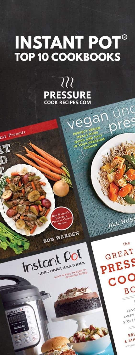 Instant Pot Cookbook Covers : Top instant pot cookbooks pressure cook recipes