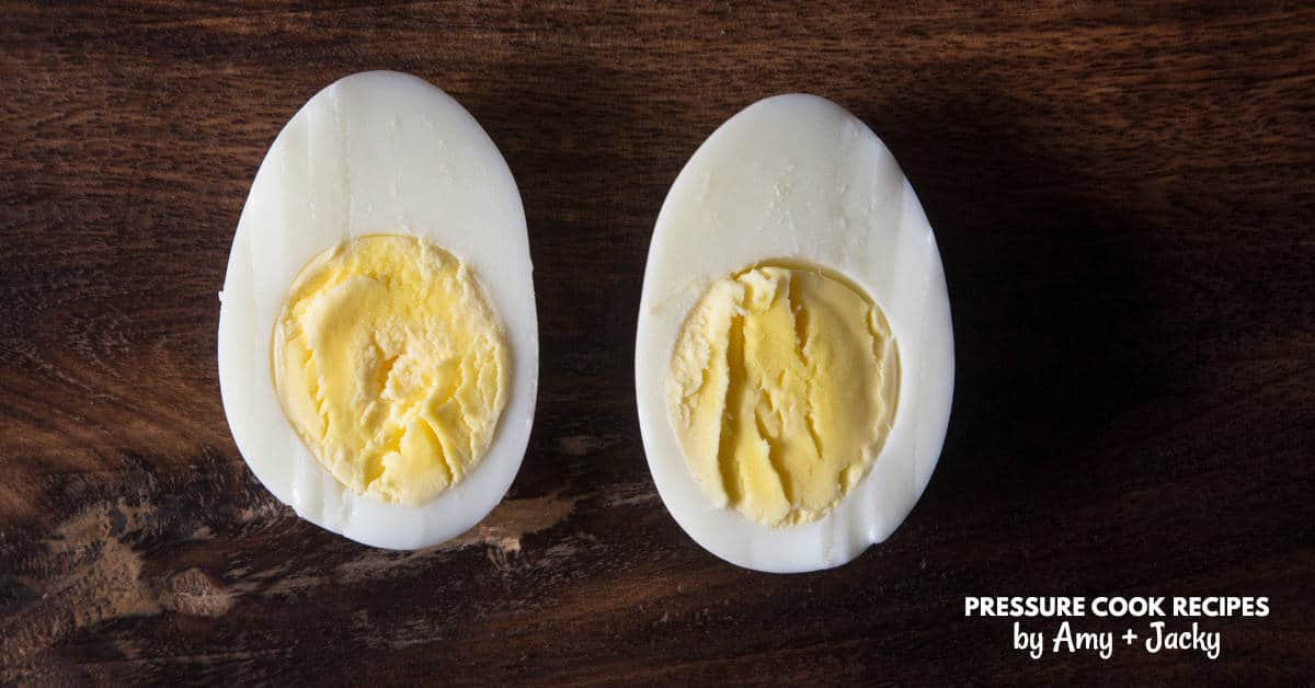 Instant Pot Hard Boiled Eggs | Pressure Cook Recipes