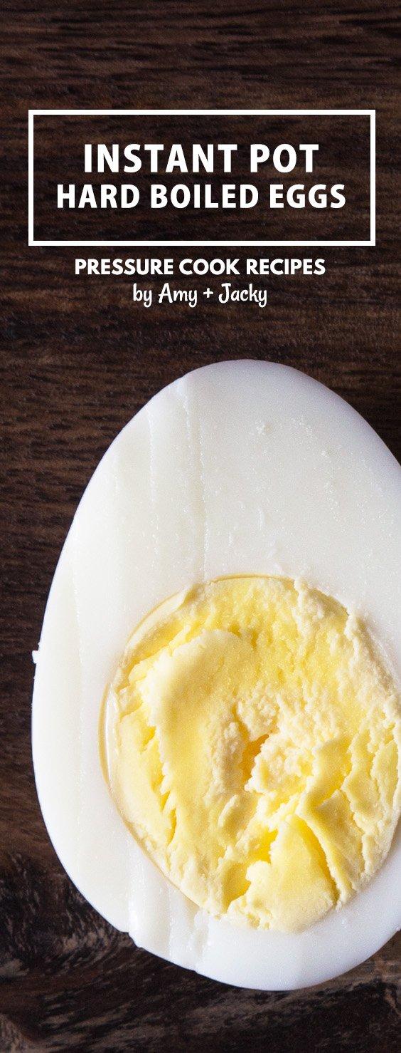 Easy methods for Perfect Instant Pot Hard Boiled Eggs & Pressure Cooker Hard Boiled Eggs that peel like a dream.