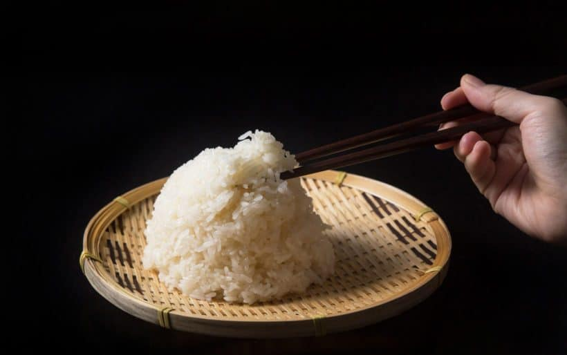 No more wet and mushy Instant Pot Sticky Rice (Pressure Cooker Sticky Rice)! Quick & easy way to make flavorful, evenly cooked Glutinous Rice with no soaking.