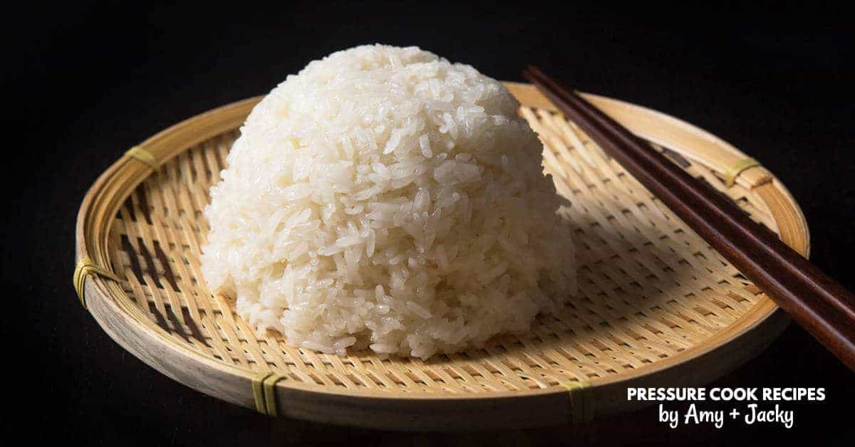 Instant Pot Sticky Rice Recipe | Pressure Cook Recipes