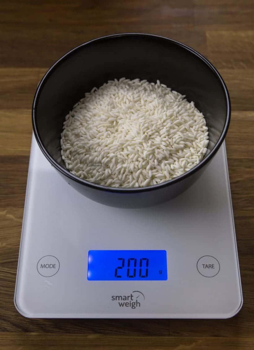 Pressure Cooker Sticky Rice Recipe