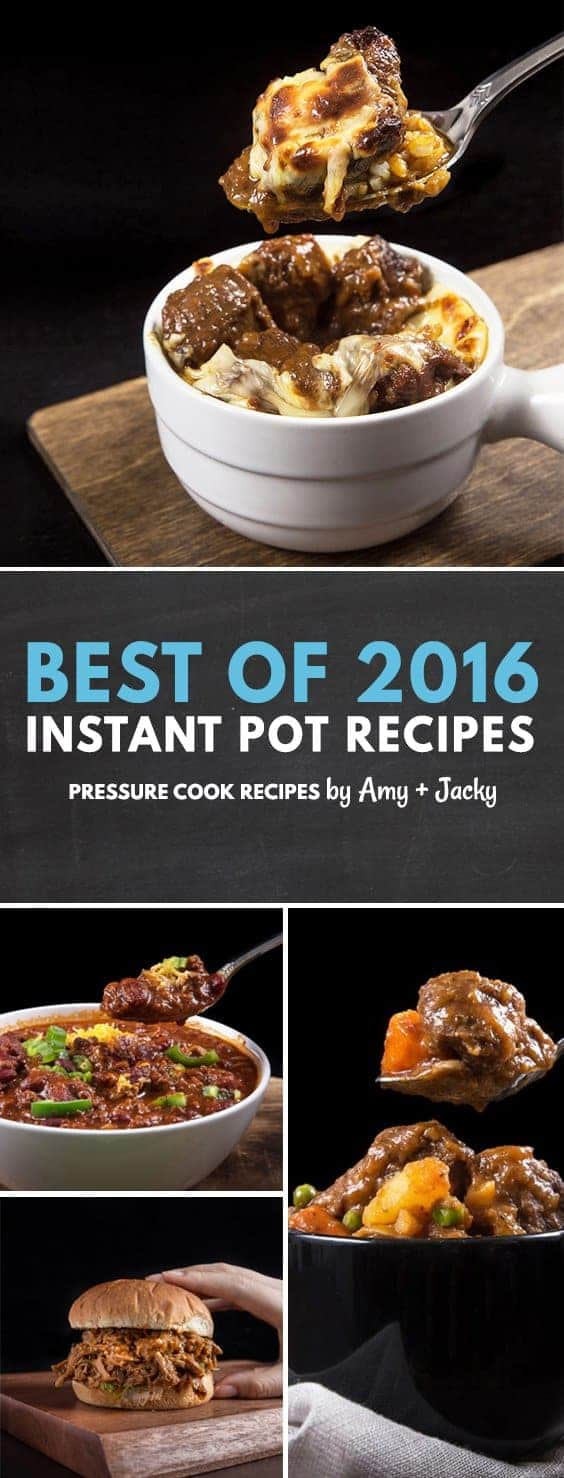 Our 15 Best Pressure Cooker Recipes & Instant Pot Recipes of 2016! Handpicked based on feedback & reviews from Electric Pressure Cooker users.