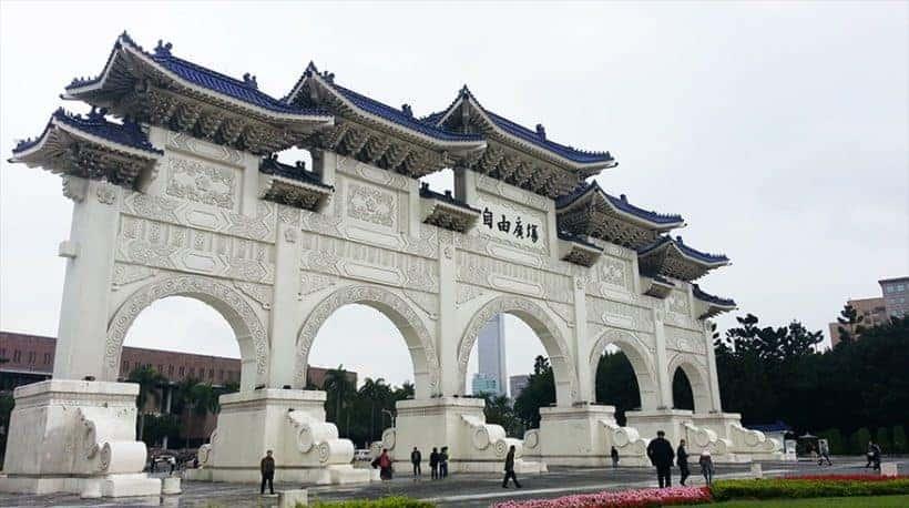 Taiwan - Taipei Liberty Square (Freedom Square)