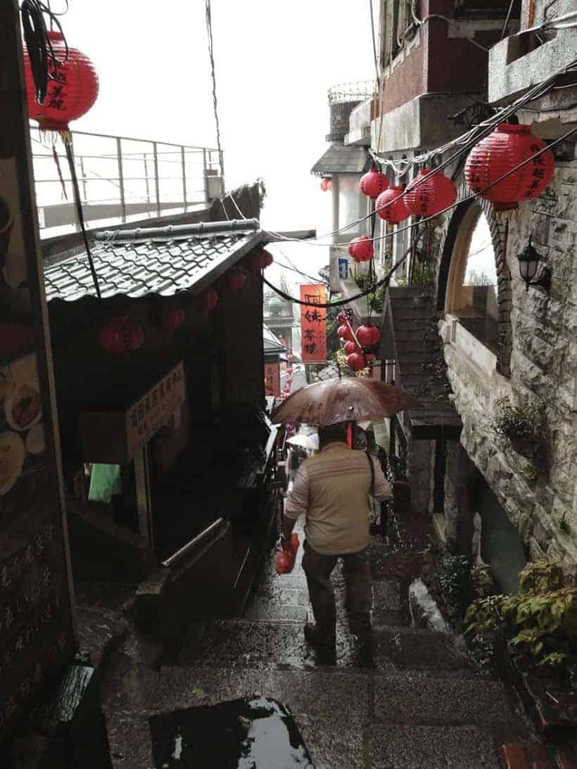 Taiwan - Taipei Jiufen Old Street