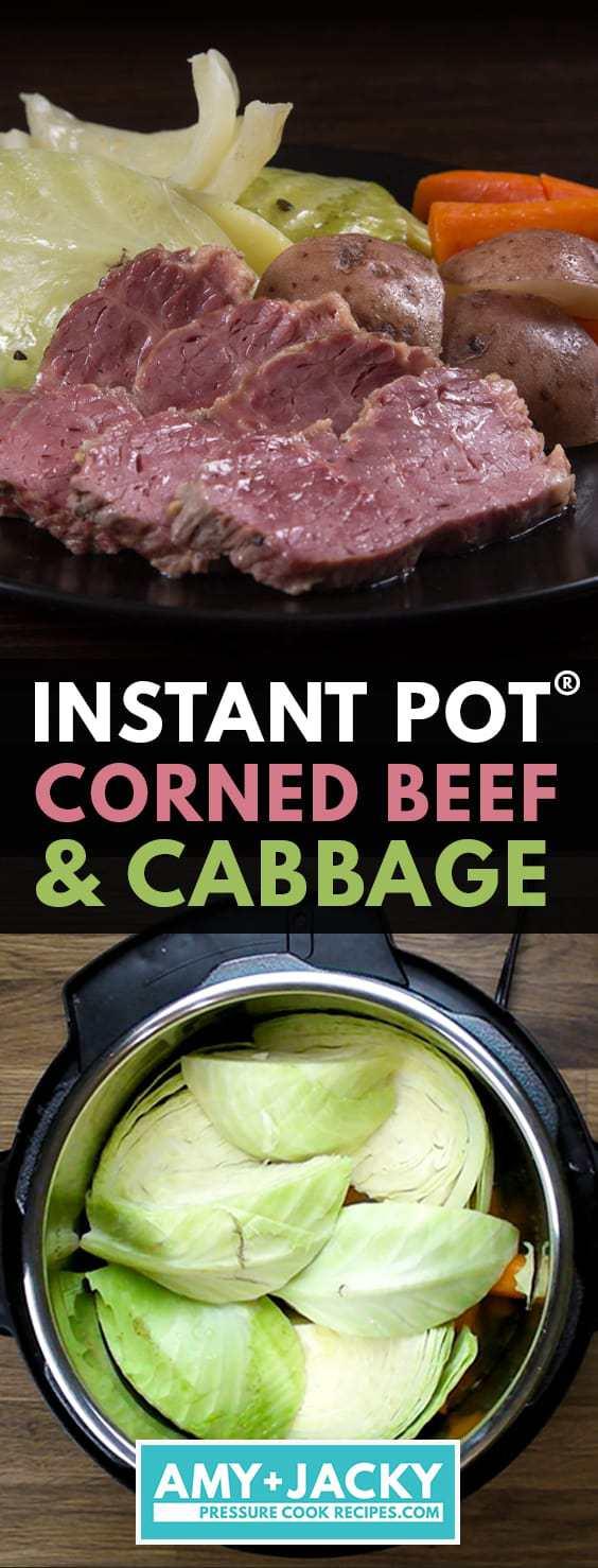 instant pot corned beef | corned beef instant pot | instant pot corned beef and cabbage | pressure cooker corned beef | corned beef cabbage instant pot | corned beef brisket instant pot #AmyJacky #InstantPot #PressureCooker #recipe #beef #StPatrick