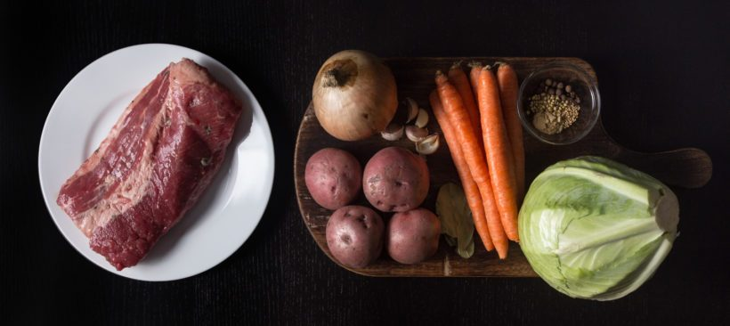 Instant Pot Corned Beef and Cabbage Recipe Ingredients