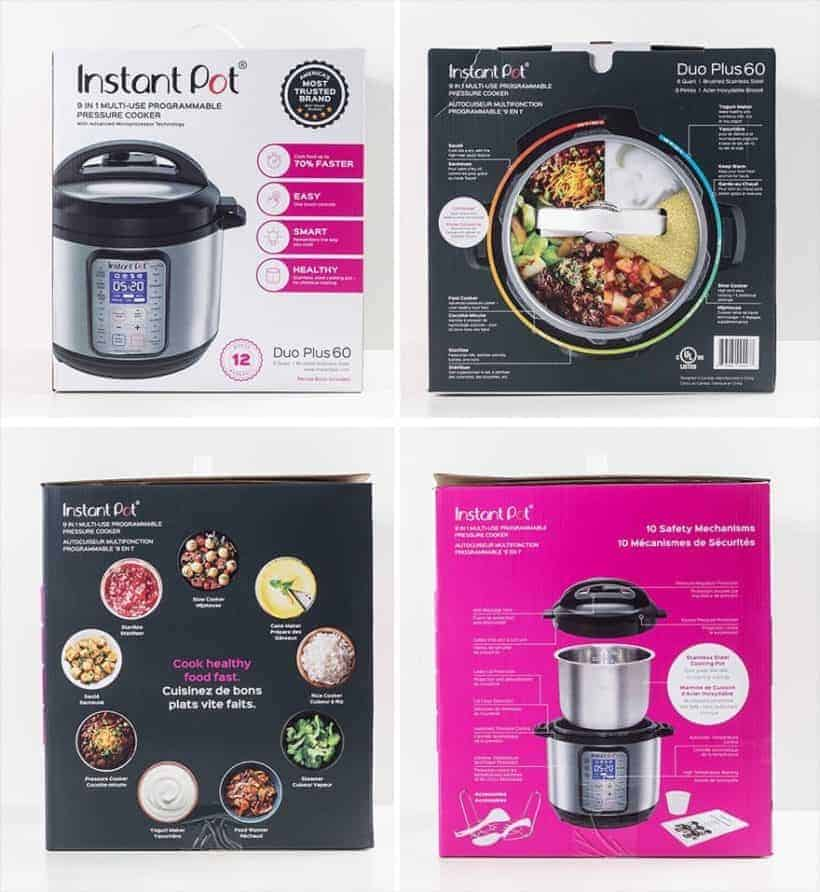 Instant Pot DUO Plus 60 Box