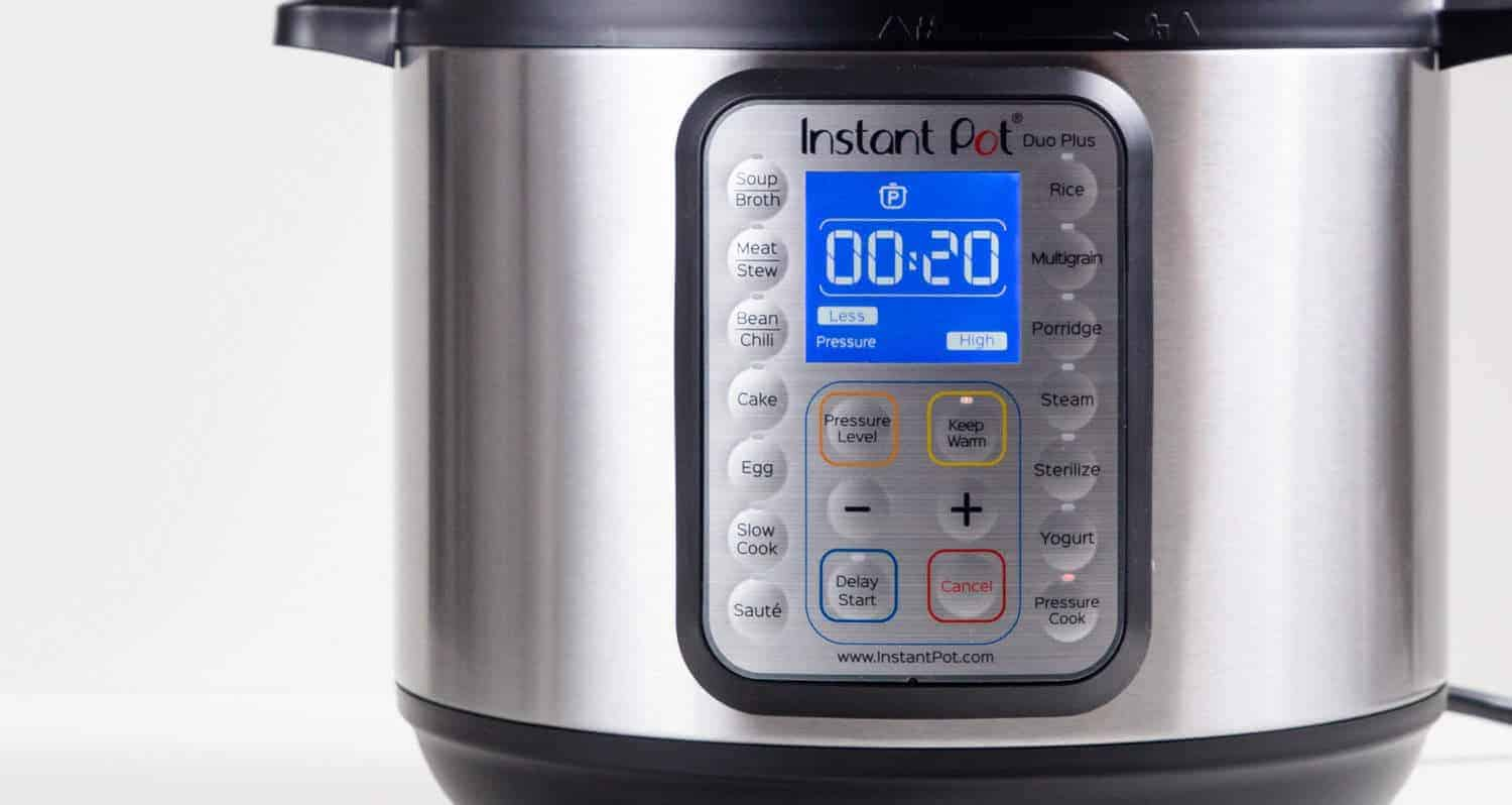 Instant Pot DUO Plus 60 Interface