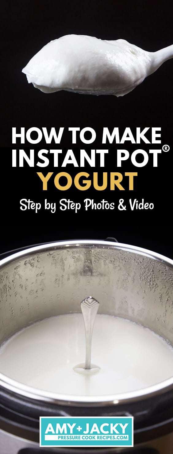 instant pot yogurt | instapot yogurt | instant pot yogurt recipe | yogurt instant pot | yogurt in instant pot | instant pot yogurt button | how to make yogurt instant pot  #AmyJacky #InstantPot #vegetarian #healthy #breakfast #snack