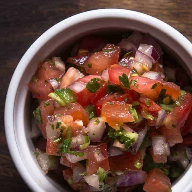 Instant Pot Fourth of July Recipes (Pressure Cooker Fourth of July Recipes): Homemade Salsa Recipe (Pico de Gallo)