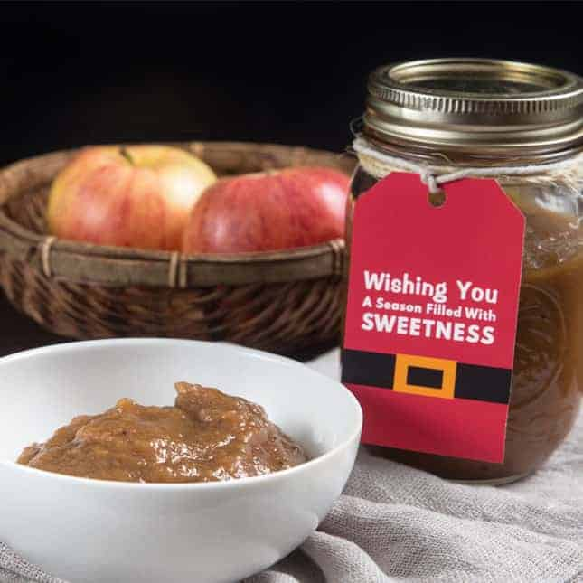 Instant Pot Homemade Food Gifts (Christmas Edible Gifts): Instant Pot Apple Butter (Pressure Cooker Apple Butter)