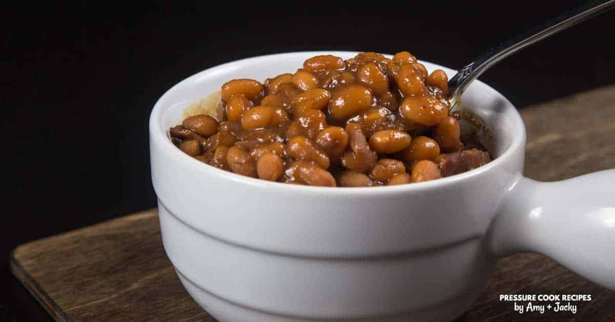 Instant pot baked beans recipe pressure cooker baked beans for Best instant pot pressure cooker recipes