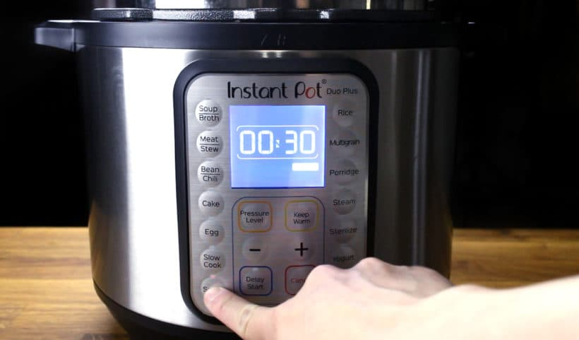 Instant Pot DUO Plus 60: Saute More Function