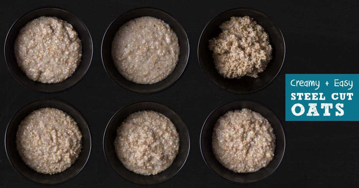 Instant Pot Steel Cut Oats (with