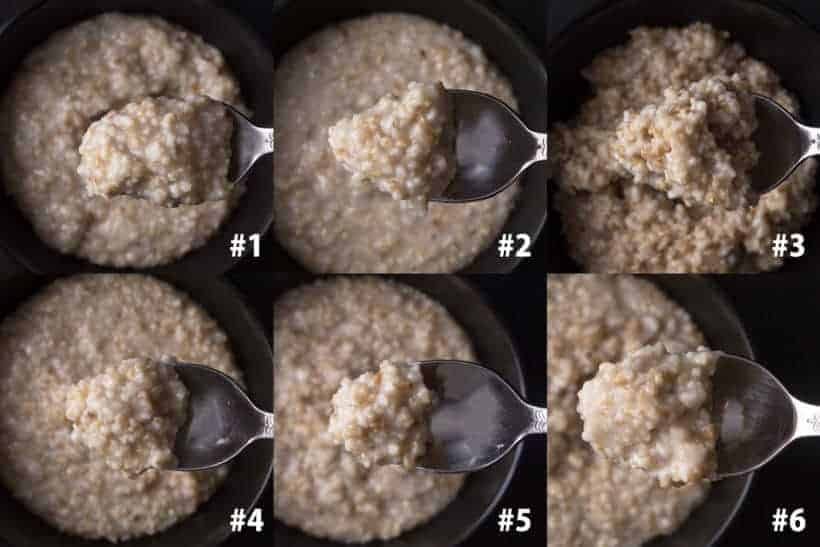 Instant Pot Steel Cut Oats Recipe (Pressure Cooker Steel Cut Oats) Experiment Results