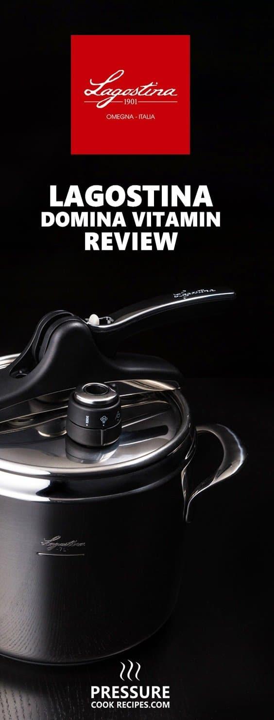 Lagostina Domina Vitamin Stovetop Pressure Cookerreview