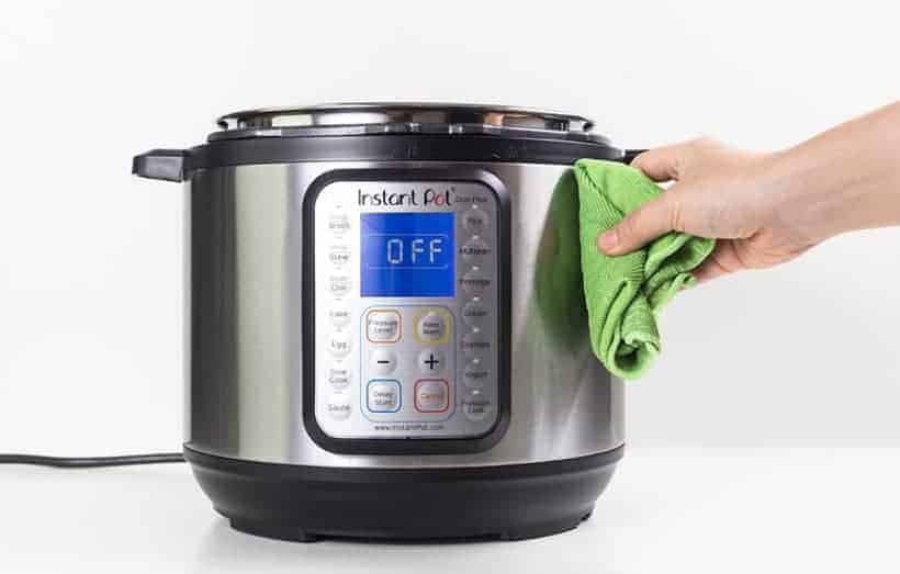 Instant Pot Cleaning: How to clean the Instant Pot Pressure Cooker Exterior Housing