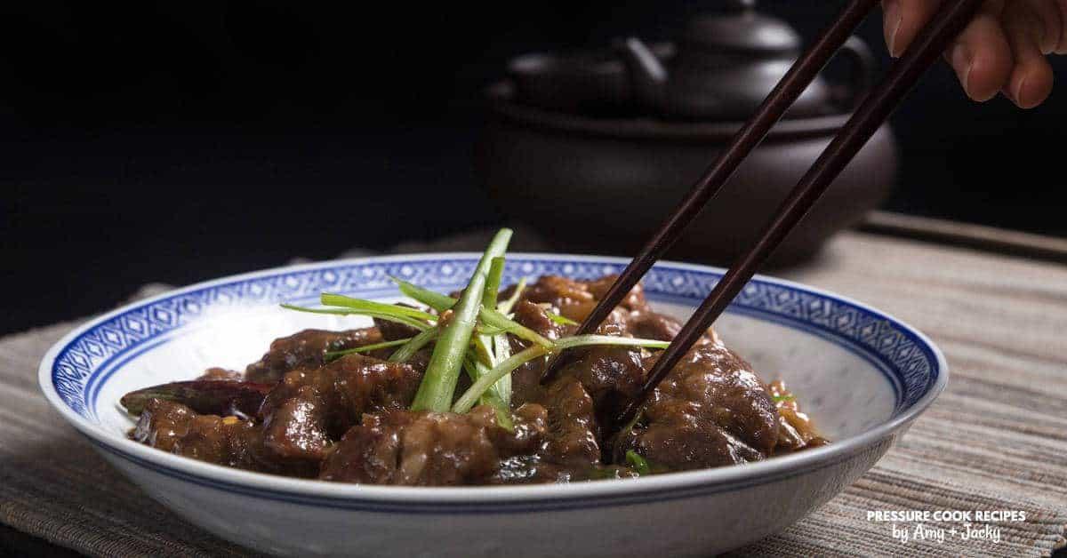 Instant Pot Mongolian Beef Recipe Pressure Cooker