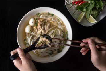 Instant Pot Pho Ga Recipe (Pressure Cooker Pho Ga): this fragrant Vietnamese Chicken Noodle Soup warms the heart and nourishes the soul.