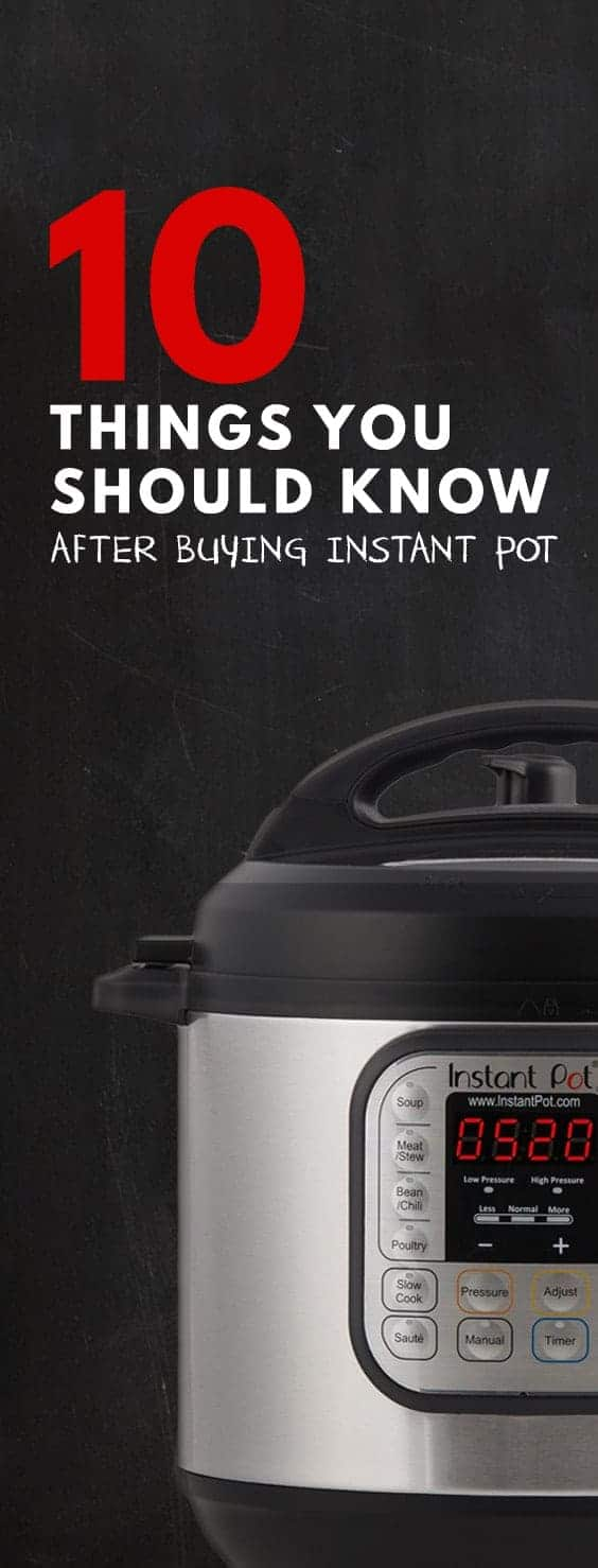 Don't know how to use Instant Pot Pressure Cooker? How to clean Instant Pot? Which Instant Pot Buttons to press? Here are 10 Instant Pot Tips for you!