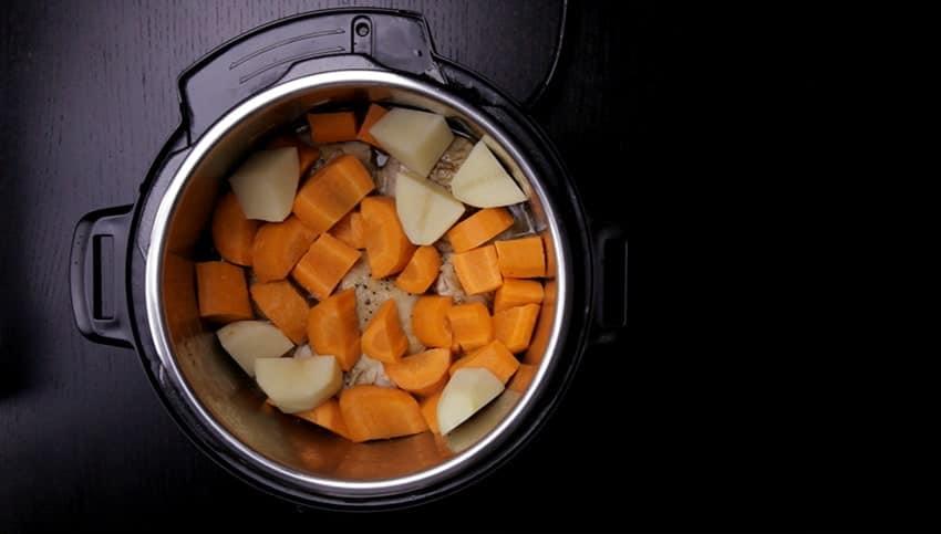 Instant Pot Carrots Potatoes Pressure Cook Recipes