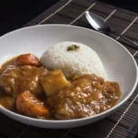 Make Easy Weeknight Japanese Instant Pot Chicken Curry Recipe (Pressure Cooker Chicken Curry) with simple ingredients. Satisfy your cravings for comforting Japanese Curry Rice in less than an hour!