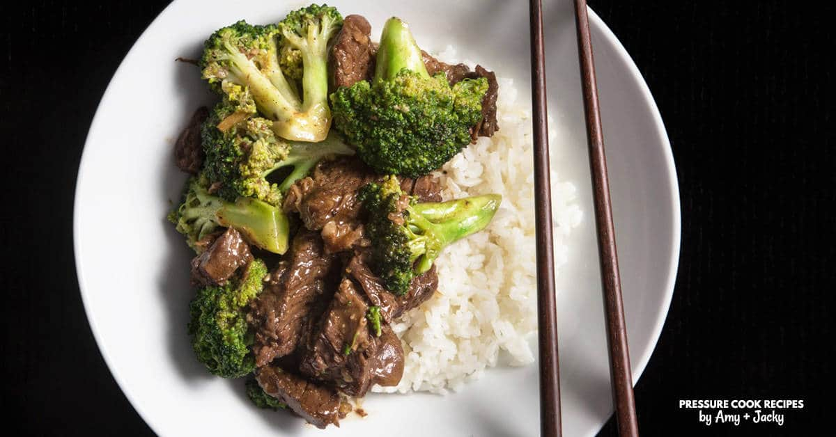 Instant Pot Beef And Broccoli Pressure Cooker Tested By Amy Jacky