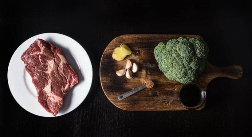 Make this Instant Pot Beef and Broccoli Recipe (Pressure CookerBeef and Broccoli) Ingredients