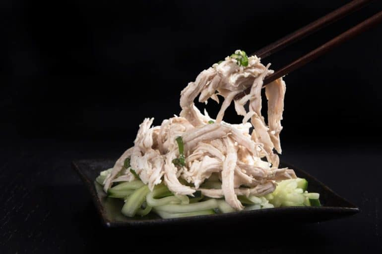 Refreshing Low Carb Instant Pot Sesame Shredded Chicken Recipe (Pressure Cooker Shredded Chicken): Super Easy and Quick to make this flavorful and appetizing pulled chicken meal.